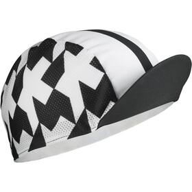 ASSOS Equipe RS Copricapo, bianco/nero